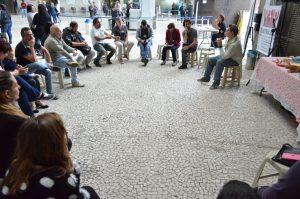 TRT: servidores discutem PJe e condições de trabalho em café da manhã com o Sindicato