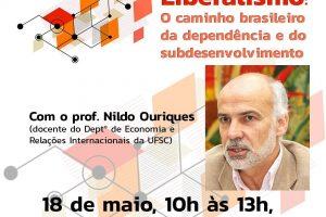 Professor da UFSC, Nildo Ouriques dará palestra no sindicato sobre liberalismo