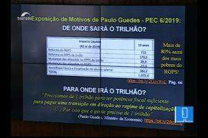 Dívida pública e 'reforma' da Previdência foram debatidos nesta segunda (13) no Senado