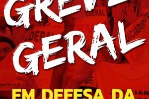 Sintrajud intensifica construção da greve geral em 14 de junho