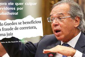 Sintrajud vai ao MPF para responsabilização de Guedes por ilação contra servidores