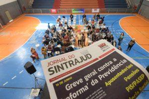 08/06/19 – Ato-debate 'A quem interessa a 'reforma' da Previdência?', no Sindicado dos Metroviários de São Paulo