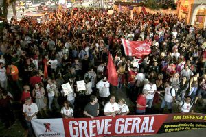 14/06/19 – Greve geral em Santos