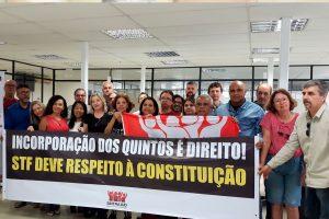02/08/19 – Mobilização na Baixada contra a redução salarial – quintos