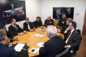 Fenajufe defende fórum de negociação, quintos e salários na reunião com a direção do STF