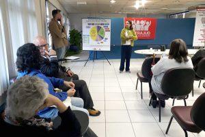 Reunião sobre os quintos mobiliza servidores da JT Santos para ato nesta 5ª