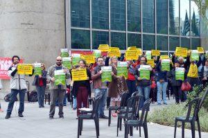 22/08/19 – Ato no TRF3, contra a redução de salários