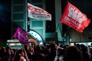 Atos na capital e em Santos marcam Dia Nacional de Mobilização em SP