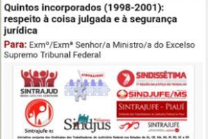 Sindicatos de vários estados reforçam mobilização pelos quintos