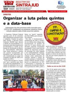 05/08/19 – Boletim do Sintrajud – Edição 218