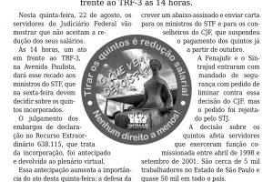 21/08/19 – Boletim do Sintrajud – Edição 219