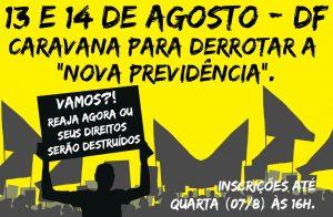 Sindicato organiza 4ª caravana a Brasília em defesa das aposentadorias