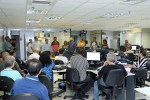 Oficiais de justiça e Sintrajud divulgam nota de repúdio à volta do trabalho presencial na Ceuni