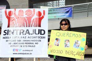 TRT-2: Mães, pais e Sindicato divulgam carta em defesa da creche e marcam ato para o dia 10