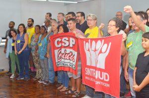 14/09/19 – Assembleia geral no auditório do Sintrajud