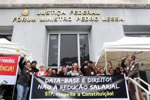 Atos em SP repudiam decisão do STF sobre a data-base e defendem direitos