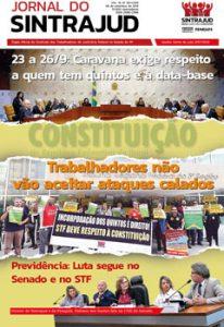 Editorial Jornal do Sintrajud 587: Intensificar a luta pela data-base e contra a redução salarial