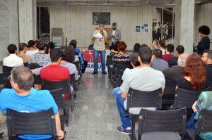 07/11/19 – Ato no TRE-Miquelina sobre o plano de saúde
