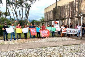 25/11/19 – Ato contra o pacote de maldades de Bolsonaro em São Vicente