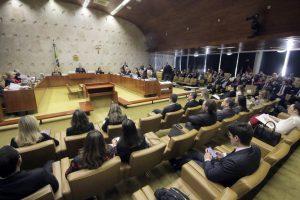 Quintos voltam à pauta de julgamento do STF com novos embargos da União