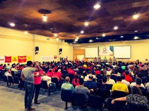 Trabalhadores aprovam carta unitária e plano de lutas contra Bolsonaro