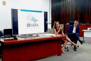 Sindicato discute e-Vara com o coordenador do projeto em reunião nesta terça