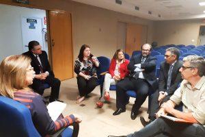 24/01/2020 – Reunião com a presidente TRF Campinas