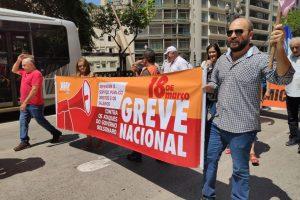Sintrajud participa de atos em defesa do serviço público em São Paulo e Santos