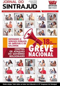 Editorial Jornal do Sintrajud 591: Mês das mulheres abre jornada de luta por direitos