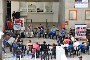 06/03/2020 – Café da manhã no Fórum Trabalhista Ruy Barbosa