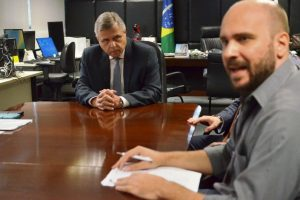 Sintrajud apresenta demandas ao novo presidente do TRE