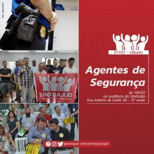 Núcleo de Agentes de Segurança tem reunião no próximo dia 7/3