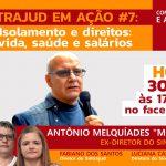 Servidores abordam isolamento social, garantia de direitos e salários em live às 17h30