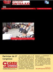 05/03/2020 – Boletim do Sintrajud – Edição 230
