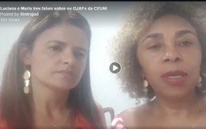 Luciana e Maria Ires falam sobre os OJAFs da CEUNI