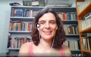 Transmissão ao vivo com a médica Diana Gameiro