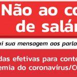 Sintrajud convoca mobilização nesta 6ª contra ameaças de redução salarial