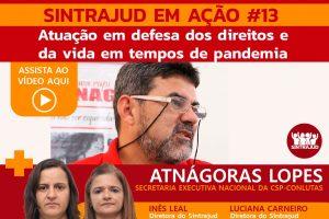 Assista aqui à transmissão ao vivo com Atnágoras Lopes