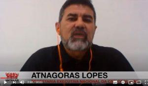 Atnágoras Lopes, integrante da secretaria executiva nacional da central sindical CSP-Conlutas