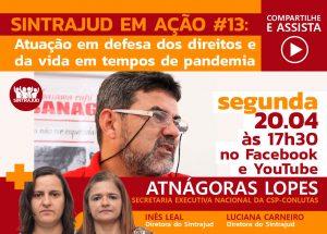 Transmissão ao vivo de segunda tem participação da CSP-Conlutas e debate ataque a direitos