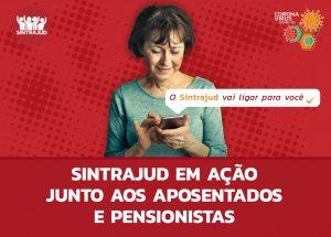 Sindicato inicia contato com aposentados e pensionistas para envio de informações atualizadas