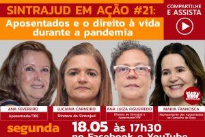 Live aborda direito de idosos à vida e situação de aposentados na pandemia