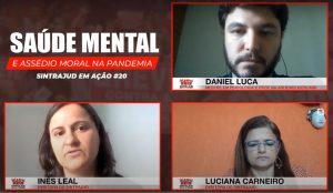 Psicólogo discutiu o combate ao assédio moral durante a pandemia