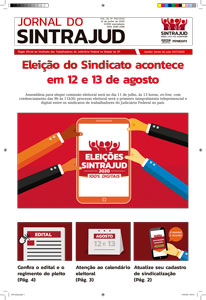 19/06/2020 – Jornal do Sintrajud – Edição 592