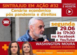 Economista vai debater cenário econômico pós pandemia em live nesta 2ª