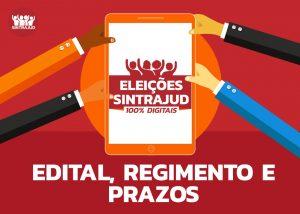 Aberto o processo eleitoral para a diretoria do Sintrajud na gestão 2020-2023
