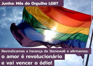 Ataques LGBTfóbicos a postagem do TRT-2 evidenciam importância do Mês do Orgulho
