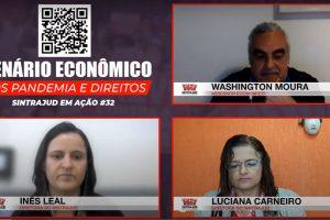 Em live, economista defende medidas de preservação de isolamento social para diminuir efeitos da crise