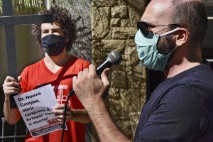 27/07/2020 – Mobilização sobre a greve sanitária no TRE