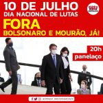 Centrais sindicais convocam panelaço pelo Fora Bolsonaro e Mourão nesta 6ª, às 20h